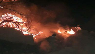 Photo of رعد و برق، کوههای تنگ چوگان را به آتش کشید/آتش مهار شد