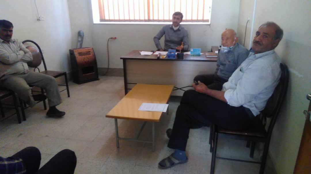 جلسه هماهنگی جهت برداشت مزارع غلات بخش کوهمره نودان برگزار شد