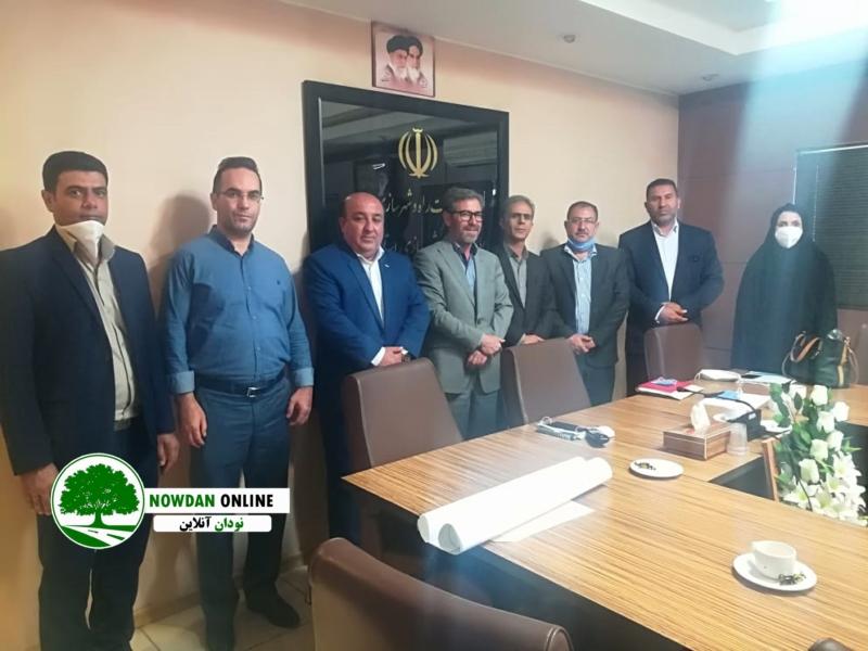 باحضور مدیرکل راه و شهرسازی استان فارس ؛ مسائل و مشکلات مربوط به طرح جامع شهر نودان بررسی شد
