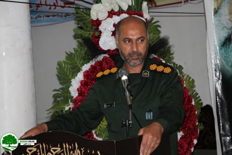 پیام تبریک فرمانده سپاه کوهچنار بمناسبت هفته دفاع مقدس