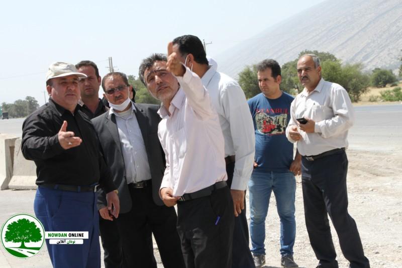 شهردار نودان خبر داد : مسدود شدن موقتی دوربرگردان جدید نودان تا انجام اقدامات ایمنی