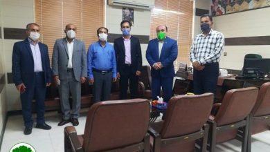 Photo of رییس اداره آموزش و پرورش بخش کوهمره نودان با حضور در دفتر شهردار نودان روز شهرداری ها را تبریک گفتند + عکس