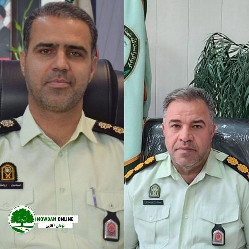 سرهنگ اسماعیل زراعتیان به عنوان فرمانده جدید انتظامی شهرستان کازرون انتخاب شده است