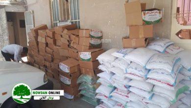 Photo of ڪمڪ مومنانه/ توزیع بسته های حمایتی اقلام غذایی در شهر نودان + تصاویر
