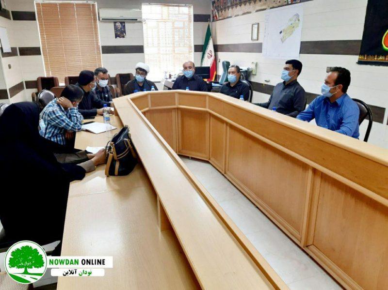 بررسی مشکلات حوزه راهداری و حمل و نقل جاده ای محور شهر نودان + تصاویر