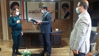 "Photo of دیدار رئیس دادگستری و دادستان ""شهرستان کوه چنار"" با فرمانده انتظامی"