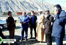 Photo of بازدید مسئول ایمنی راه های استان فارس از محور جاده اصلی نودان به قائمیه
