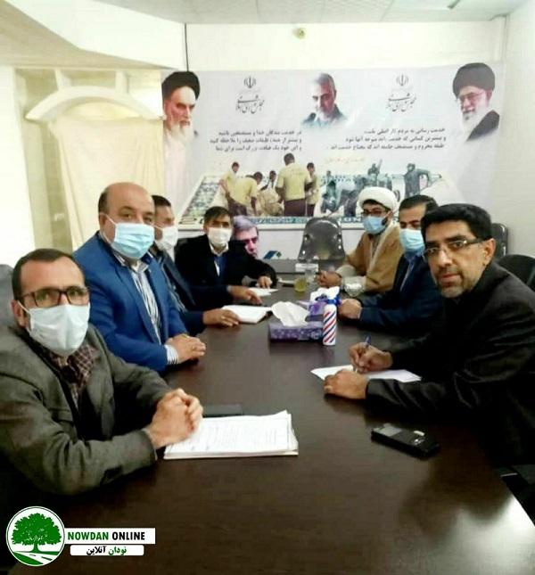 بررسی مشکل صدور سند منازل شهر نودان با حضور مسئولین مربوطه