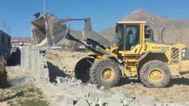 Photo of رفع تصرف از 5000 متر مربع از اراضی ملی در شهرستان  کوه چنار