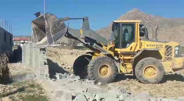 رفع تصرف از ۵۰۰۰ متر مربع از اراضی ملی در شهرستان  کوه چنار