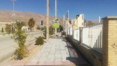 Photo of اجرای فاز دوم پروژه موزاییک فرش معابر توسط شهرداری نودان