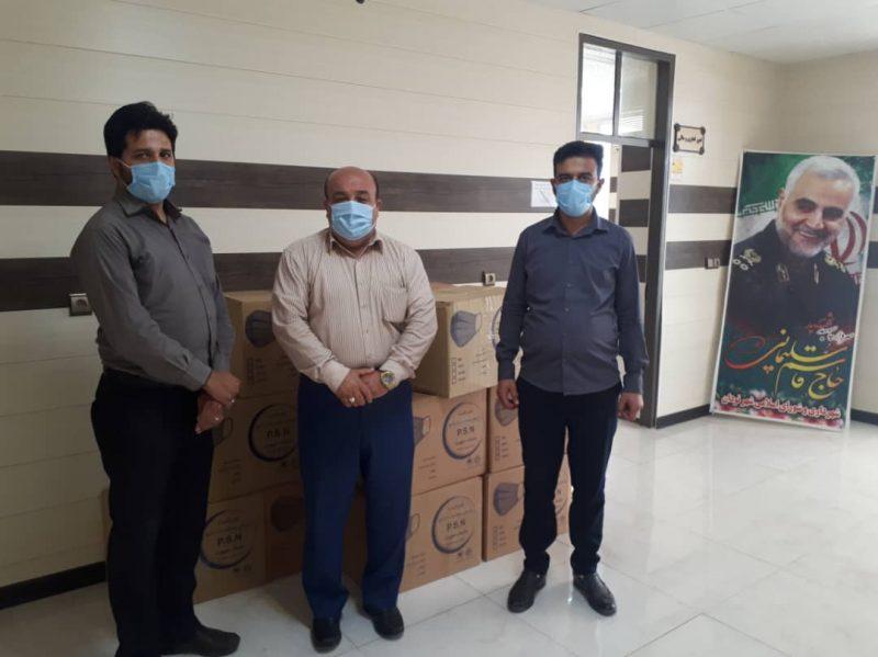 به همت مهندس نوذری؛هزار ماسک سه لایه جهت اجرای طرح شهید سلیمانی به سپاه کوهچنار اختصاص یافت