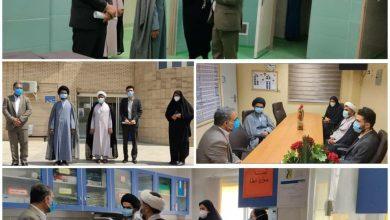 Photo of بازدید امام جمعه جدید شهرستان کوه چنار از بیمارستان قائمیه