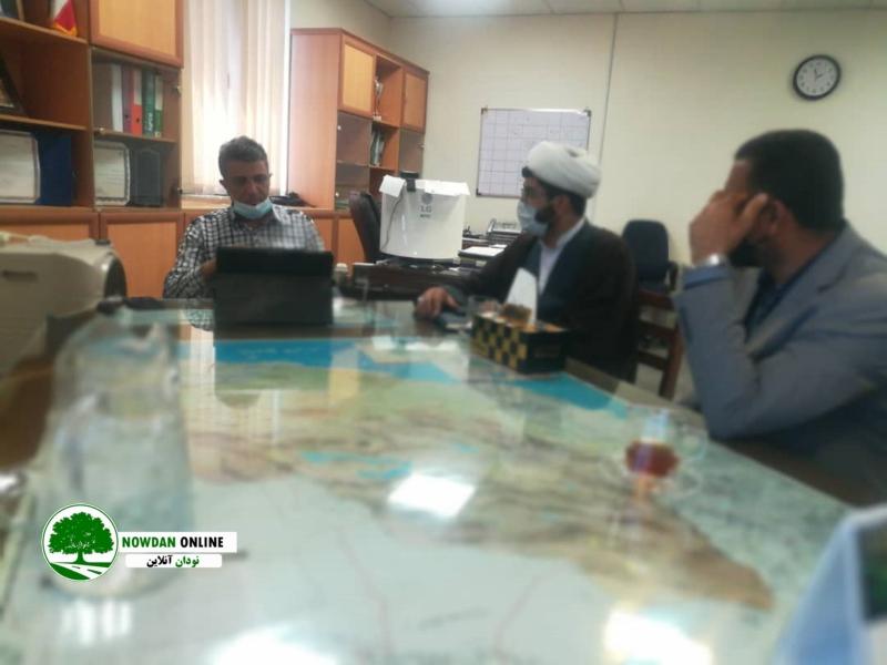 با حضور در شرکت مخابرات استان فارس مشکلات حوزه مخابرات شهر نودان بررسی شد