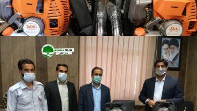 Photo of تحويل دو دستگاه دمنده اطفاء حریق به اداره منابع طبیعی توسط دادگستری کوه چنار