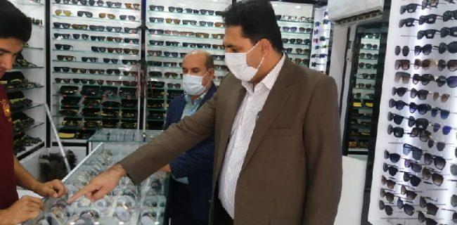 ارجاع ۴ پرونده تخلف گرانفروشی واحدهای صنفی پوشاک فروشان و خرازان به تعزیرات حکومتی شهرستان