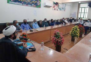 نشست رئیس دفتر نماینده شهرستان های کازرون و کوه چنار با مردم نودان