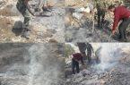 کشف کوره زغالی غیرمجاز در شهرستان کوه چنار