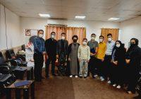 مراسم تجلیل از خبرنگاران فعال در دفتر امام جمعه کوه چنار