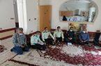 دیدار فرمانده انتظامی شهرستان کوهچنار با خانواده شهید الخاص انصاری