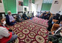 دیدار فرمانده انتظامی شهرستان کوه چنار با خانواده شهید میرزایی در نودان