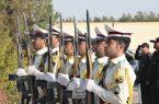 صبحگاه مشترک یگان های مختلف  نظامی و انتظامی شهرستان کوهچنار